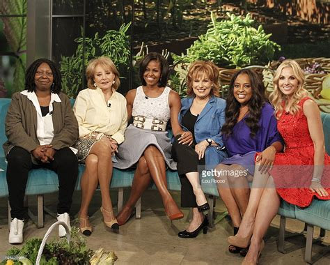 michelle obama on the view the view getty images