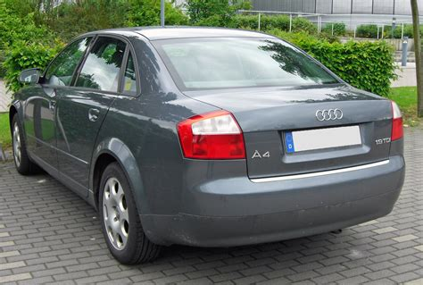 Audi A4b6 by File Audi A4 B6 1 9 Tdi 20090516 Rear Jpg Wikimedia Commons