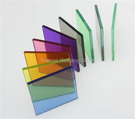 Color Glass color laminated glass gb0002 guibang glass china