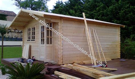 chalet de jardin en kit fabricant constructeur de kits chalets en bois habitables stmb