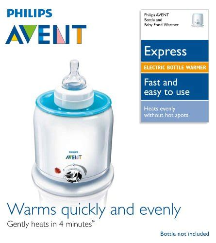 Philips Avent Fast Bottle Baby Food Warmer Defroster Penghangat 32 philips avent express food and bottle warmer great