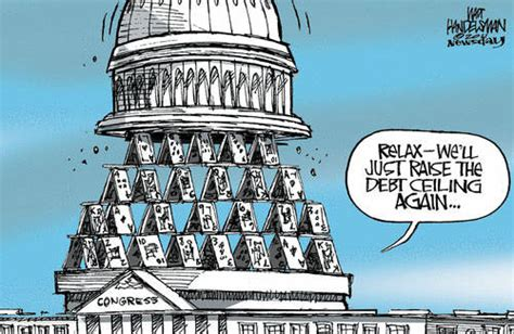 debt ceiling political cartoons gop guarantees another debt ceiling vote before election