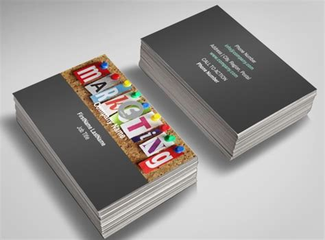 advertising agency business cards templates marketing agency business card template