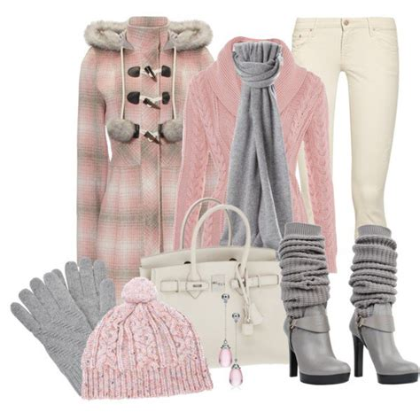 the pink and grey look nice with the paint color eden s best winter outfits blessedmagazine