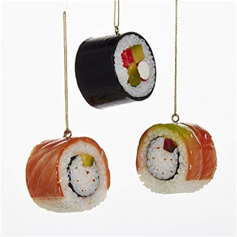 sushi christmas ornaments