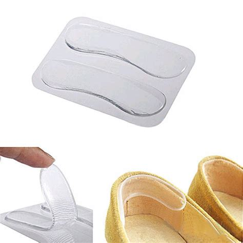 1 foot silicone mat 1 pairs silicone gel heel mat protector foot care