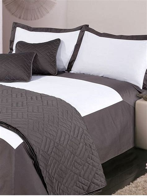Grey And White Single Duvet Cover Luxury Hotel Collection Oxford Single Duvet Cover Set