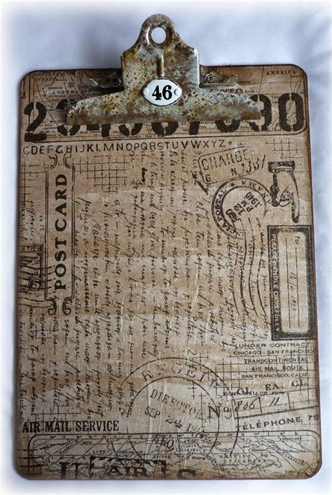 decoupage clipboard tutorial 133 best altered clipboards images on pinterest collage