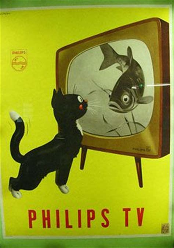 Murah Poster Color Yellow Ochre Cat Poster oude nederlandse reclameposters zoeken oude
