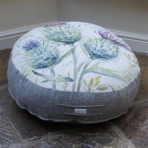 highland cow bean bag voyage maison thistle glen floor cushion footstools