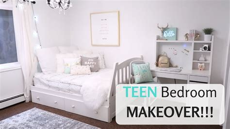 cute teen bedroom cute teen bedroom makeover reveal youtube