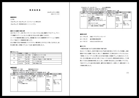 Japanese Resume Maker 職務経歴書 しょくむけいれきしょ Japanese Dictionary Japaneseclass Jp