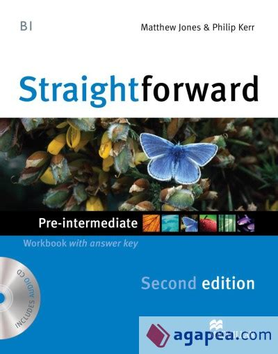 libro straightforward 2nd edition advanced straightforward 2nd edition pre intermediate workbook with answer key cd macmillan agapea