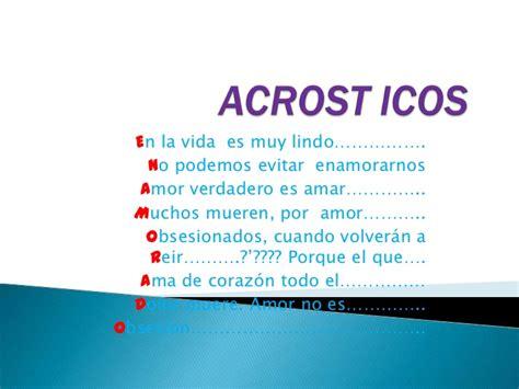acrostico de la palabra en ingles espanol acrosticos bryan dams