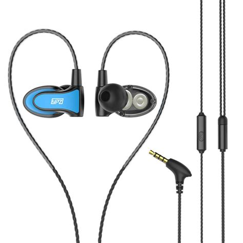 Headset Xiomi Stereo Hf Xiomi Diskon ys68 dual drive headset stereo earphones sports headphone with microphone for iphone