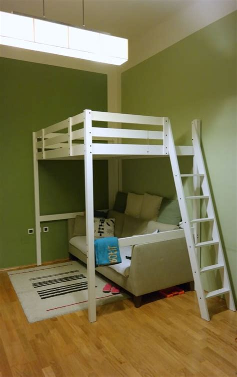 ikea stora loft bed hack stor 197 loft bed to loft office ikea hackers ikea hackers