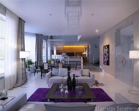 modern living room colors modern living room with purple color d s furniture