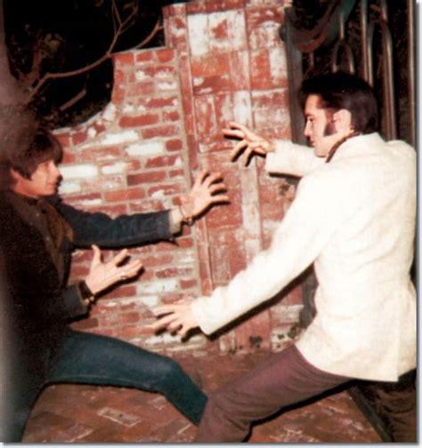 Fan, Sonny Hugues and Elvis Presley, December 5, 1968