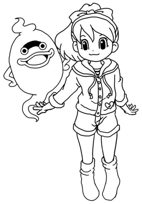 coloring pages yokai youkai coloring pages sketch coloring page
