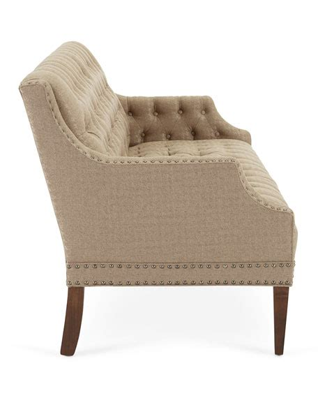 m s settees capaldi tufted settee