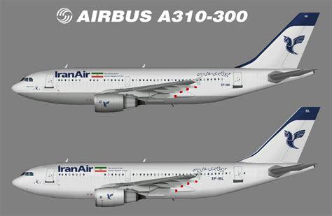 Iran Air Airbus A310 300 iran air airbus a310 300 juergen s paint hangar