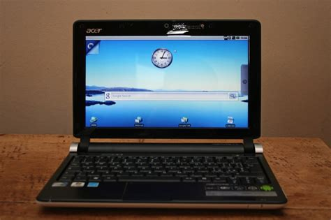 android netbook acer aspire one d250 android netbook gets reviewed android central