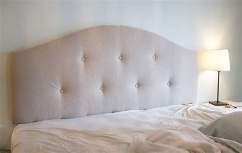 Make Tufted Upholstered Headboard by Picture Of Diy Upholstered Tufted Headboard