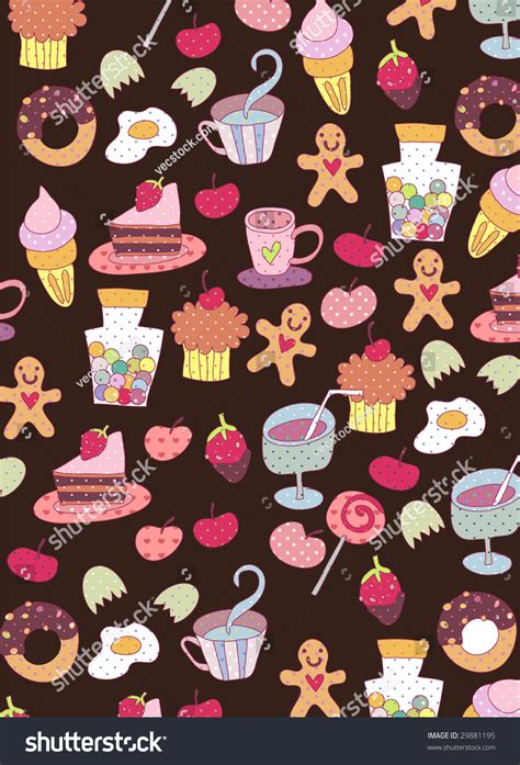 cute food wallpapers  iphone  misc monodomo