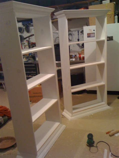 do it yourself built in bookshelves faux built ins do it yourself pictures and shelves