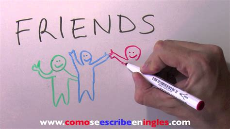 imagenes en ingles de mejores amigas c 243 mo se escribe en ingl 233 s amigos youtube