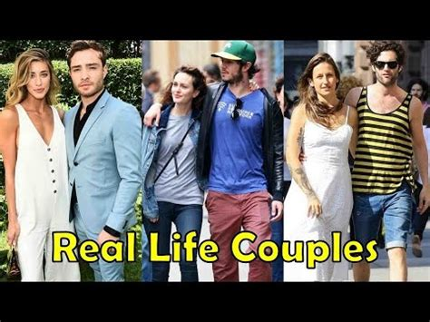 the real gossip girl real life couples of gossip girl youtube