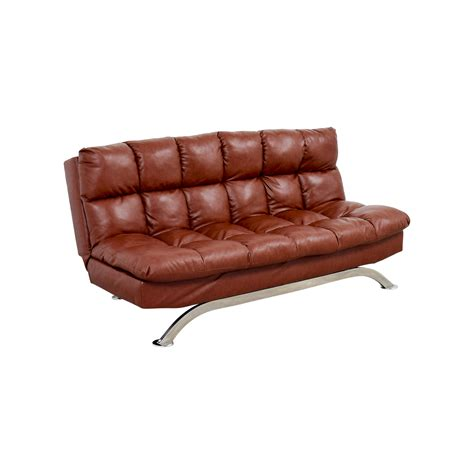Brown Leather Sleeper Sofa 62 Wayfair Wayfair Brookeville Brown Leather Sleeper Futon Sofas