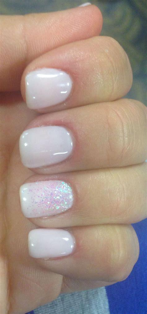 Shellac Nail by Nails Romantique Shellac Wedding Nails Soft Color