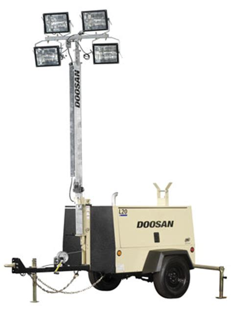 Portable Light Towers by Westquip Diesel Sales Western Canada Power Generation