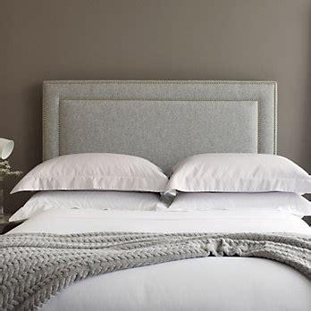 White And Grey Headboard Grey Headboard Simple White Linen Future Home