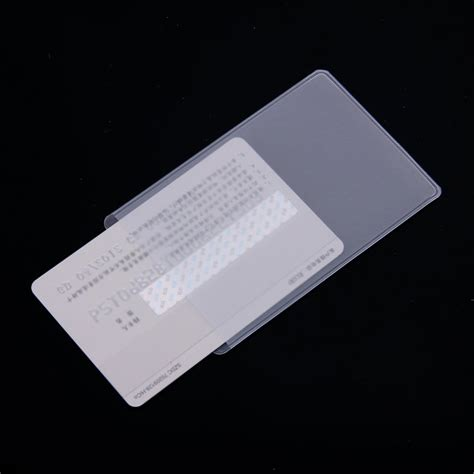 clear vinyl protector 5x 10pcs soft clear plastic card sleeves protectors for