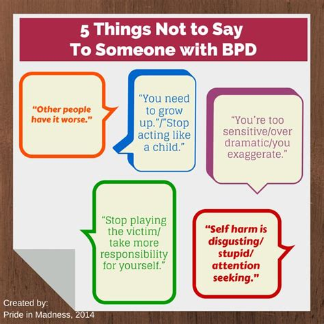 7 Things Not To Say At Our Next by 5 Things Not To Say To Someone With Bpd Borderline