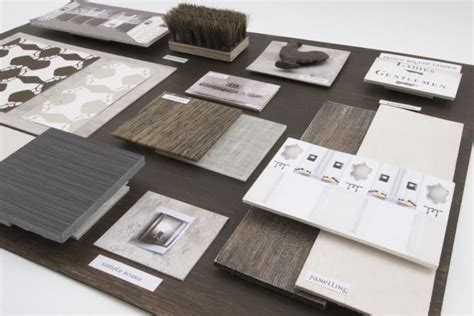 material design ideas presentation materials burles interior design boards trays design