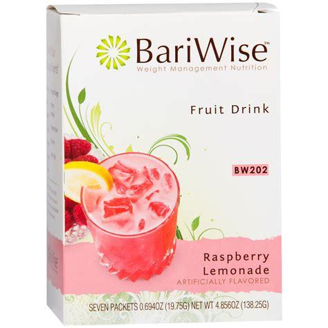 fruits w protein protein diet fruit drink raspberry lemonade 7 ct bariwise