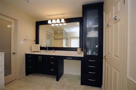 bathroom vanities with makeup area what size is the vanity and makeup area thanks