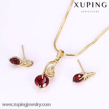 Set Xuping 147 61718 xuping jewelry 14k gold filled necklace