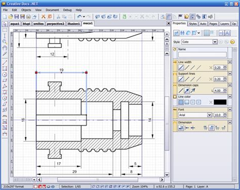 blue print software free creativedocs free alternative to illustrator and coreldraw