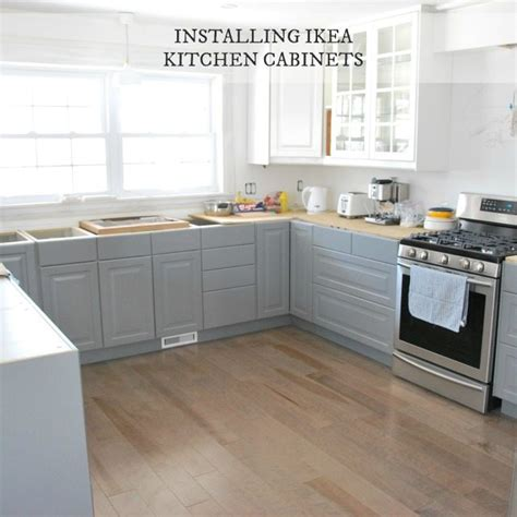 how to install ikea kitchen cabinets installing ikea kitchen cabinetry our experience the