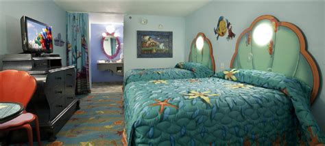 mermaid room of animation walt disney world resort s of animation resort opened the mermaid section what s