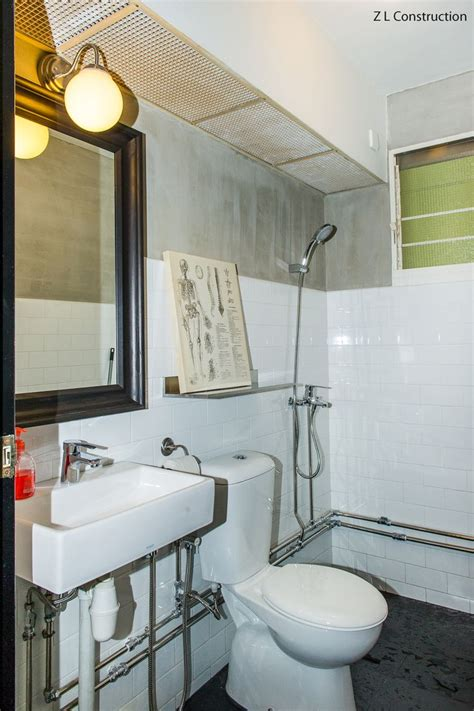 bathtub singapore hdb z l construction singapore industrial themed hdb