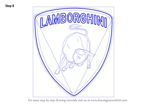 lamborghini symbol drawing step by step how to draw steamer from hoze houndz