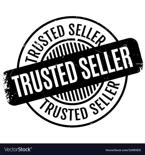 Bukti Trusted Seller 1 trusted seller rubber st vector by lkeskinen image 12481631 vectorstock