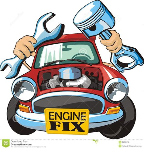 how to fix the motor of a car window motor fix stock vector image of detail repair