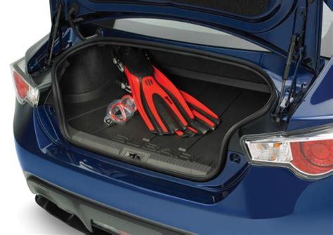 subaru brz scion frs trunk area cargo tray part no