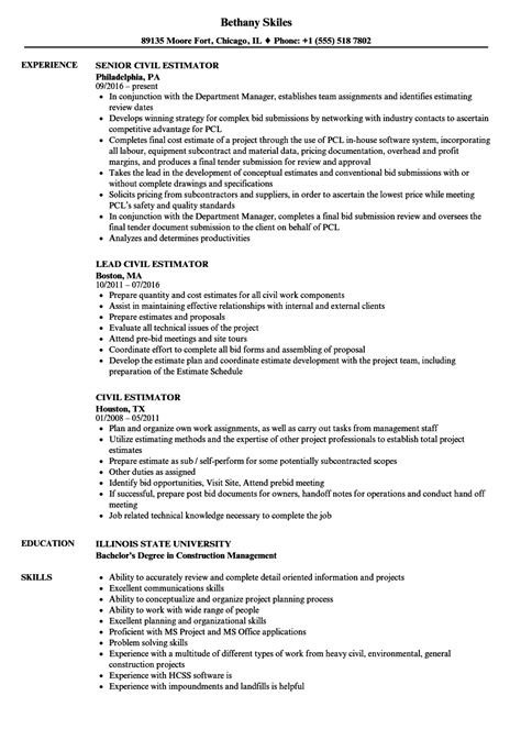 Electrical Estimator Sle Resume by Electrical Estimator Cover Letter Sle Resume For It Professional